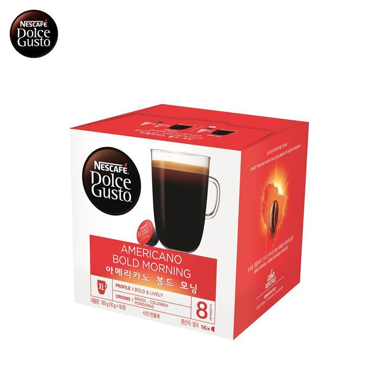 雀巢咖啡-美式濃烈晨光咖啡膠囊 (一組3盒)