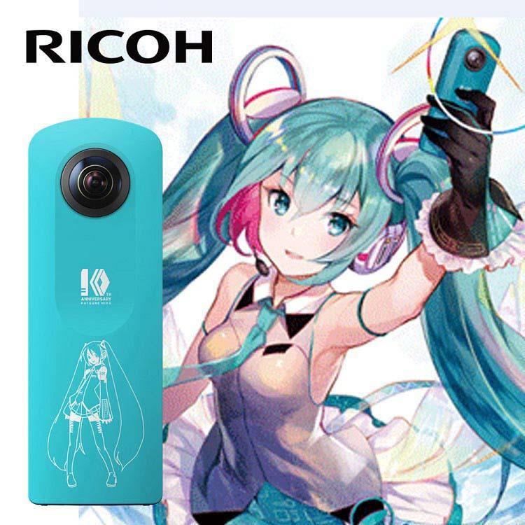 RICOH THETA SC MIKU初音限量版(公司貨)