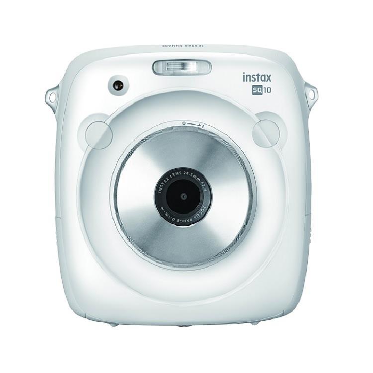FUJIFILM instax SQUARE SQ10 方形拍立得相機-白色