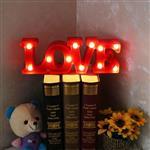 英文LOVE紅色愛LED造型燈/裝飾燈/氣氛燈