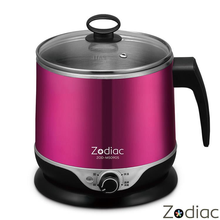 諾帝亞Zodiac-1.5L雙層隔熱不鏽鋼美食鍋ZOD-MS0905