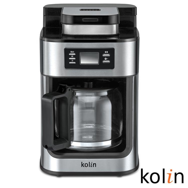 歌林Kolin-10人份全自動研磨咖啡機KCO-MNR1257