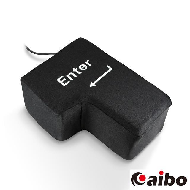 辦公室舒壓神器 Big Enter鍵 USB造型枕