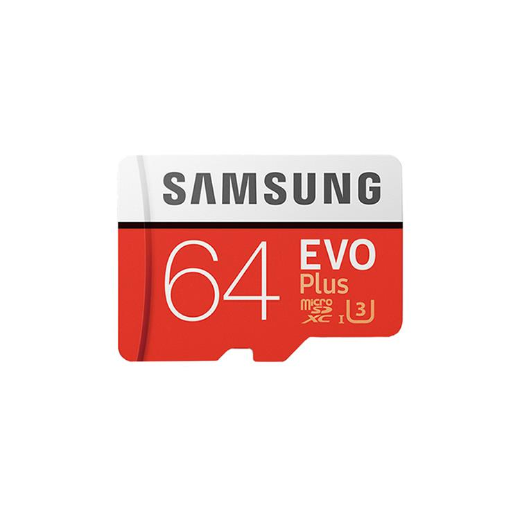 SAMSUNG三星 64GB【EVO Plus】microSDXC 高速記憶卡