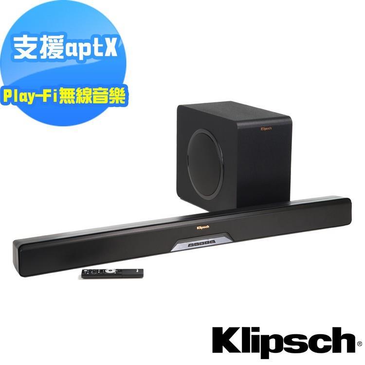 【美國Klipsch】2.1聲道單件式環繞SoundBar RSB-14