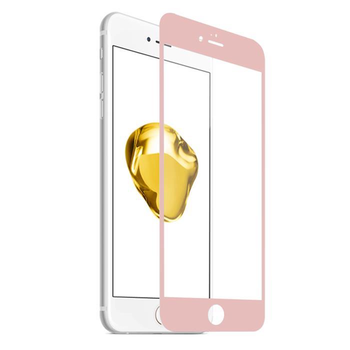 【Q&K】全覆蓋iPhone6/6s(4.7吋)高清亮面9H鋼化保護貼