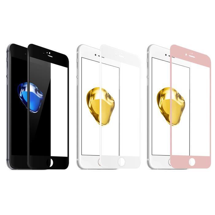 【Q&K】全覆蓋iPhone6/6s+(5.5吋)高清亮面9H鋼化保護貼