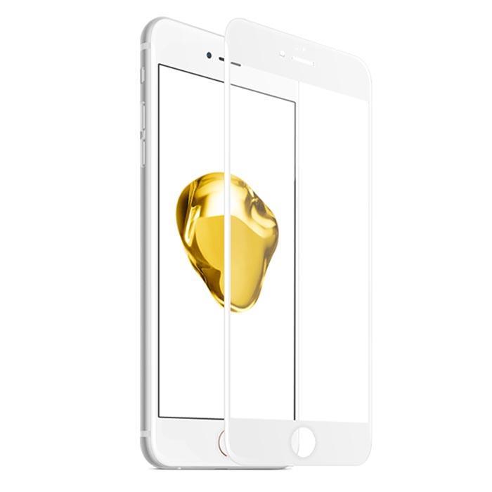 【Q&K】全覆蓋iPhone7/8(4.7吋)高清亮面9H鋼化保護貼