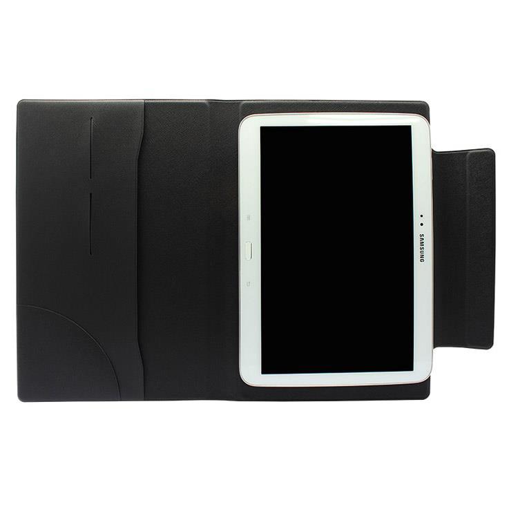 【FENICE】超薄型黏貼式8吋平板電腦共用保護皮套(黑)