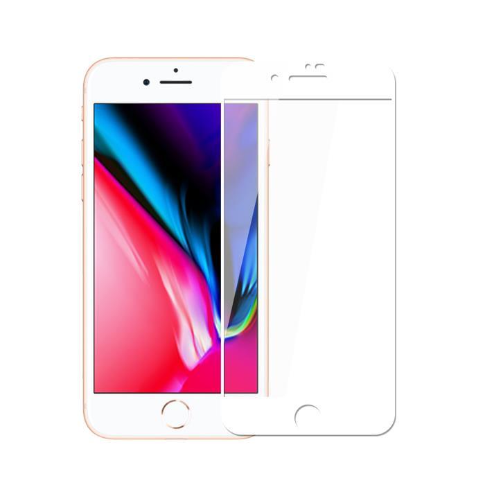 【Q&K】康寧材質iPhone8鋼化玻璃保護貼
