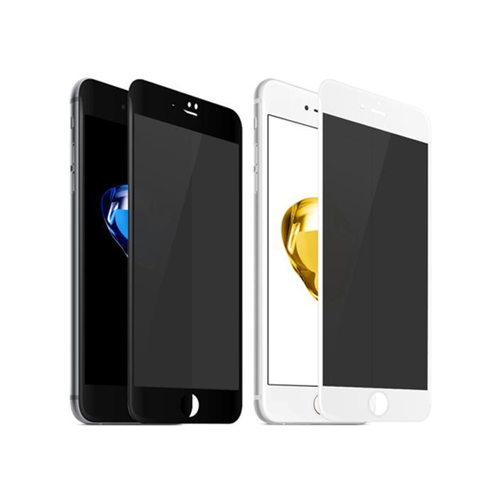 【Q&K】軟邊防窺iPhone7/8(4.7吋)玻璃保護貼