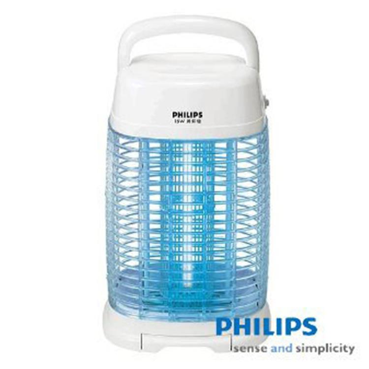 【PHILIPS 飛利浦】15W 光觸煤殺菌方圓型捕蚊燈(IST-409YQ)