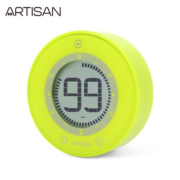 【ARTISAN】圓形計時器ART01G(綠)