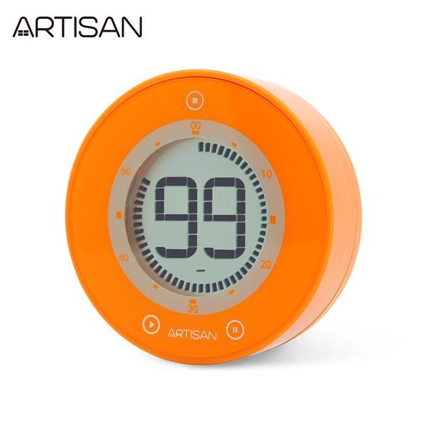 【ARTISAN】圓形計時器ART01O(橘)