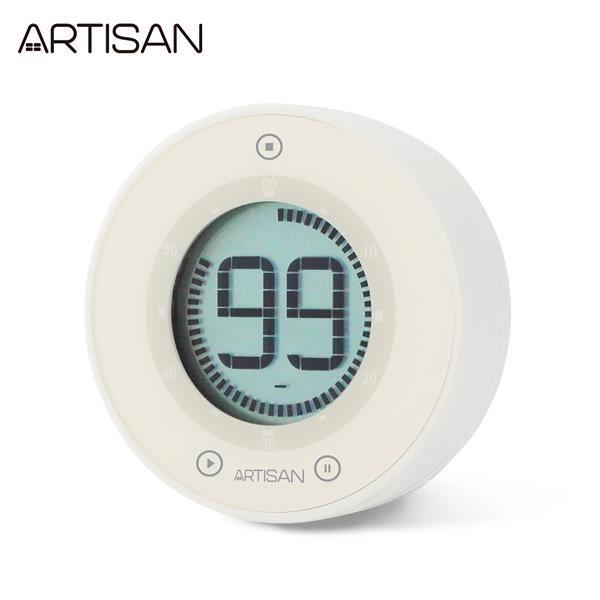 【ARTISAN】圓形計時器ART01W(白)