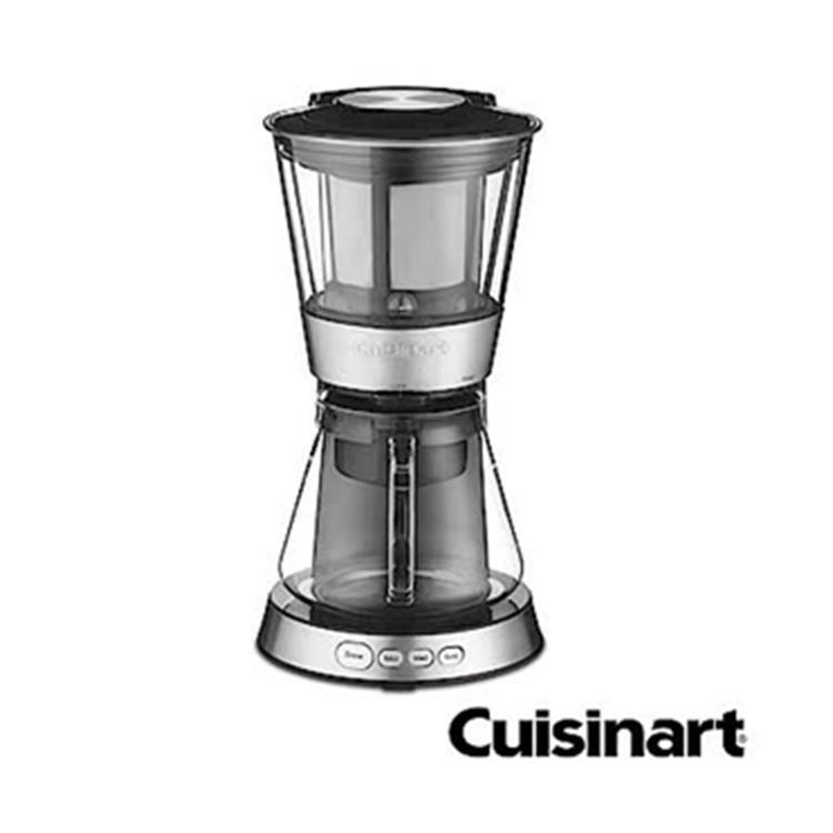 (加贈咖啡豆1磅)Cuisinart 美膳雅 自動冰滴冷萃咖啡機 冷泡茶機 DCB-10TW
