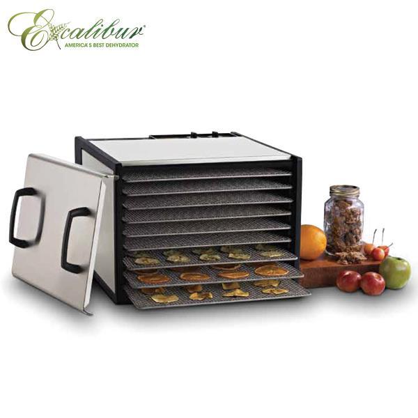 伊卡莉柏九層低溫不鏽鋼乾果機900SHD贈小烤箱