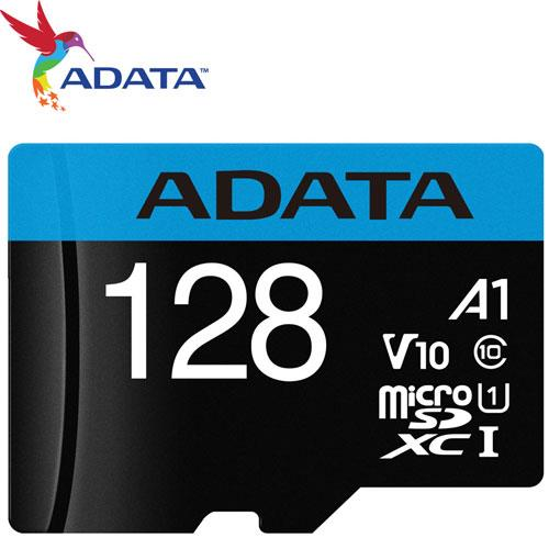 ADATA 威剛 128GB microSDXC TF UHS-I U1 A1 V10 記憶卡