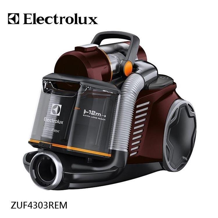 【伊萊克斯Electrolux】臥式插電雙通道旋風鎖塵吸塵器 ZUF4303REM