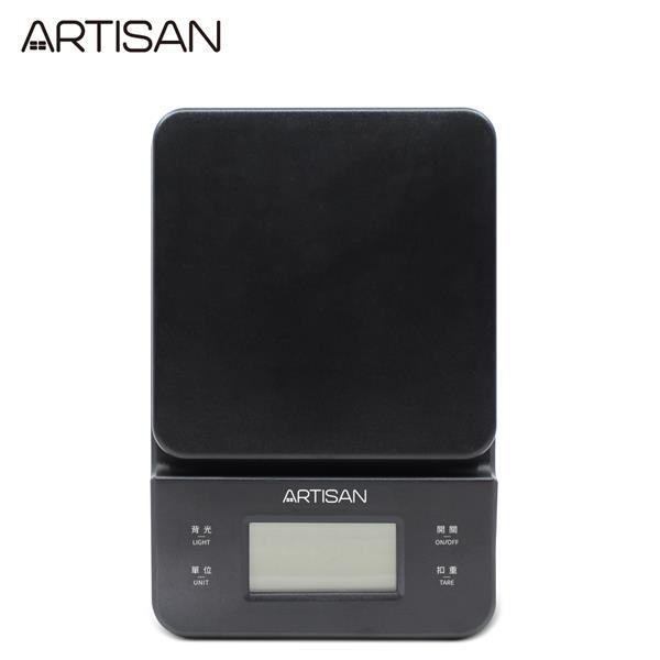 【ARTISAN】三段式觸控微量電子秤-黑ARES01B