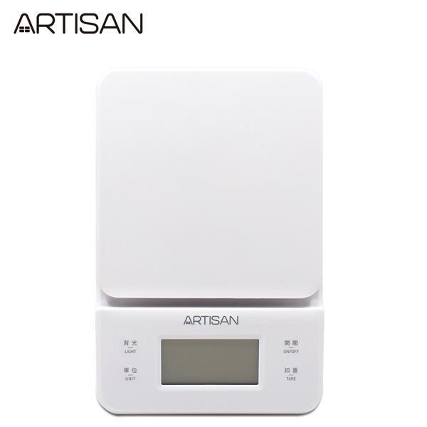 【ARTISAN】三段式觸控微量電子秤-白ARES01W