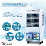 【EMMAS】負離子移動式降溫水冷扇 SY-168
