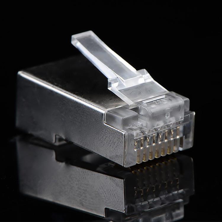 CAT6 8P8C RJ45水晶網絡接頭(20入)