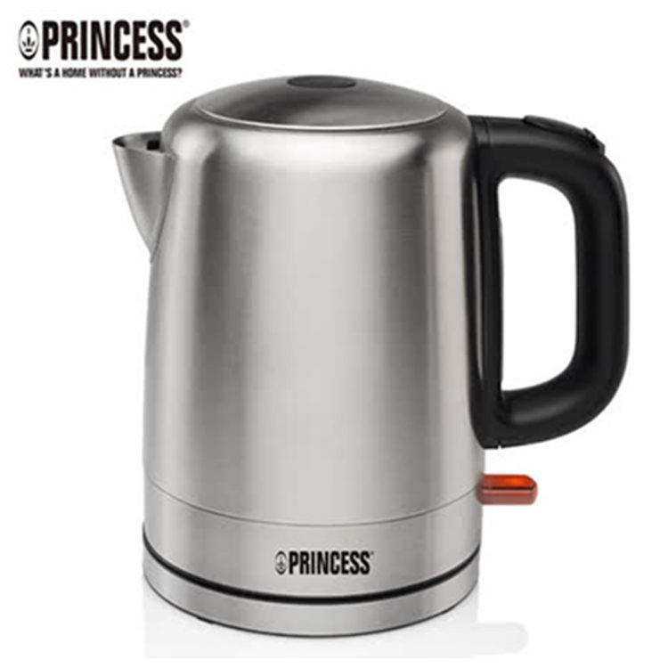 加贈玻璃隨手瓶《PRINCESS》荷蘭公主1L不鏽鋼快煮壺- (不鏽鋼色)2(236000R)