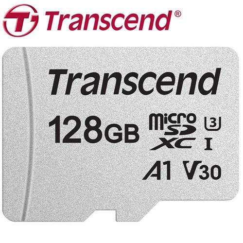 Transcend 創見 128GB microSDXC TF U3 A1 V30 300S 記憶卡