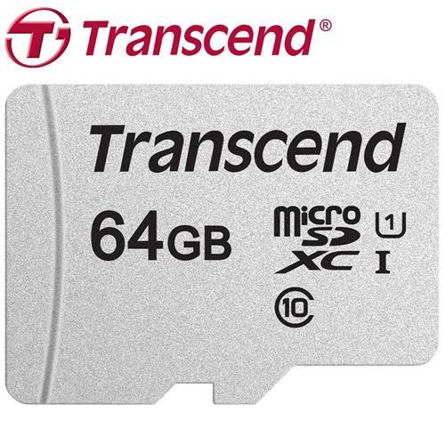 Transcend 創見 64GB microSDXC TF U1 C10 300S 記憶卡