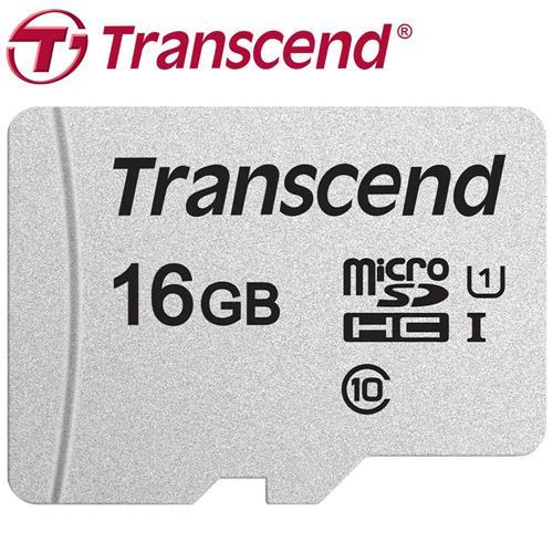 Transcend 創見 16GB microSDHC TF U1 C10 300S 記憶卡