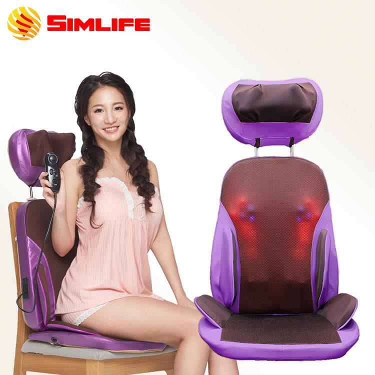 Simlife-仿沙發108↑按摩頭椅墊(三色)