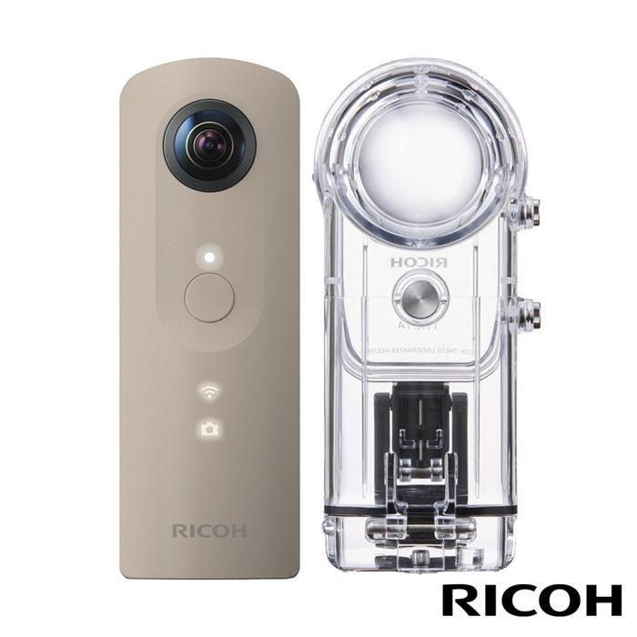 【360潛水組合】RICOH THETA SC+TW-1-公司貨