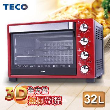 (福利品)TECO東元 YB3201CBR 32公升烤箱