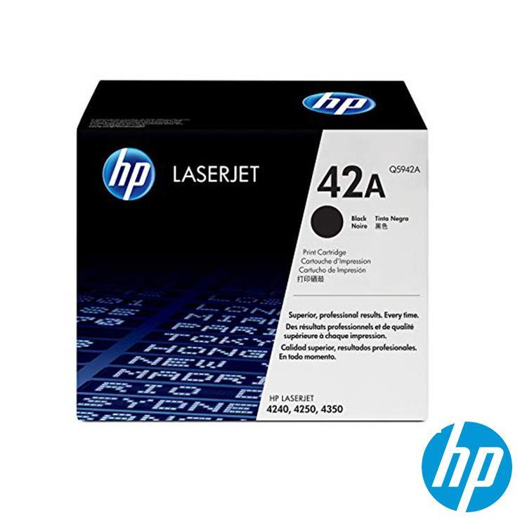 HP 42A 黑色碳粉匣(Q5942A) 原廠貨