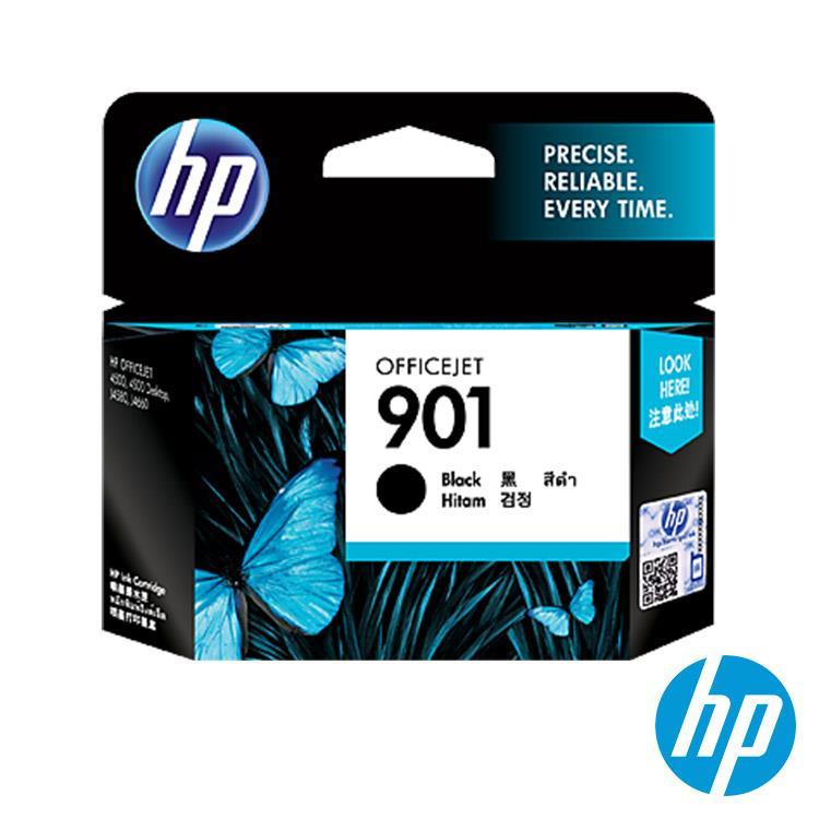HP 901 原廠黑色 Officejet 墨水匣(CC653AA)