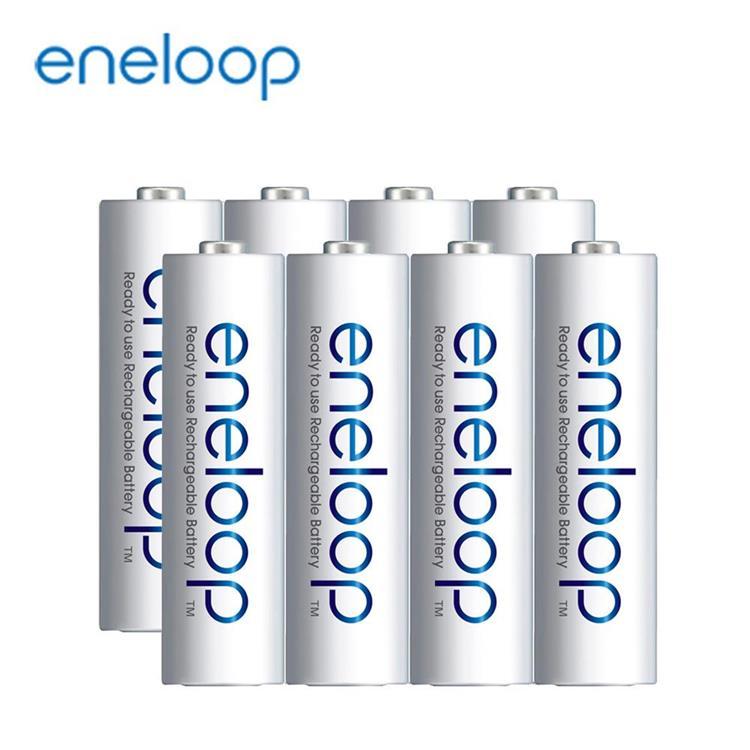 【Panasonic】國際牌eneloop低自放鎳氫充電電池800mAh(4號8入)