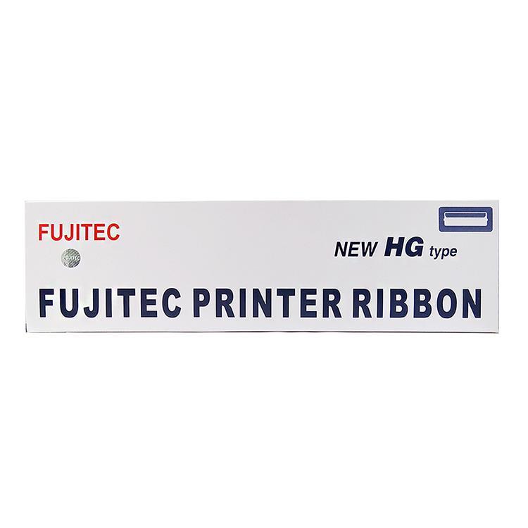 FUJITEC DL6400原廠色帶(黑色)