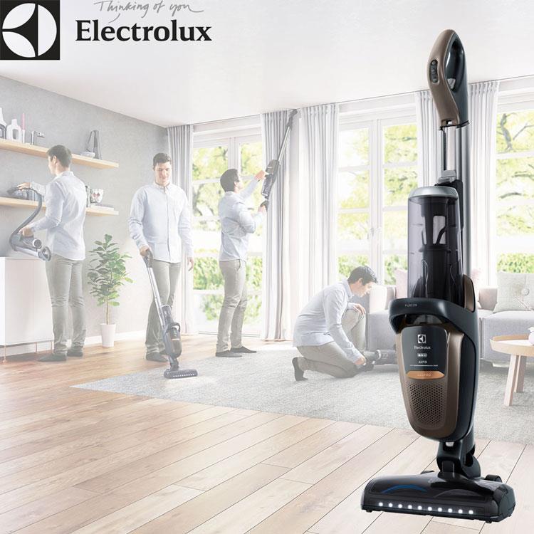 高階款【Electrolux伊萊克斯】滑移百變吸塵器 Pure F9 (可可棕.珍珠白 吳慷仁代言)