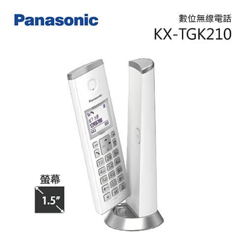 Panasonic 國際 KX-TGK210 DECT數位無線電話