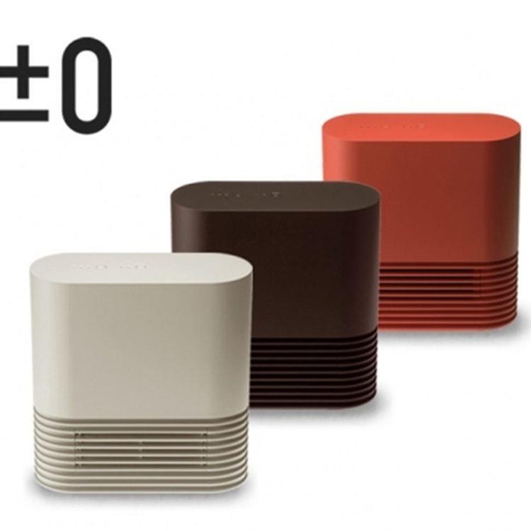 【日本 正負零】±0 陶瓷電暖器XHH-Y030(磚紅/米白/咖啡)