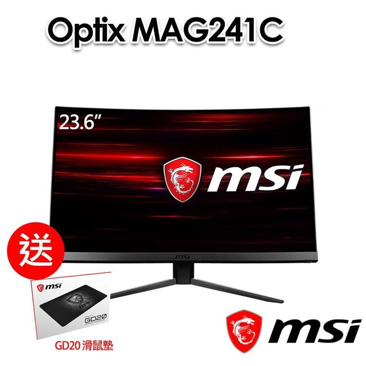 msi微星Optix MAG241C 23.6吋 電競螢幕