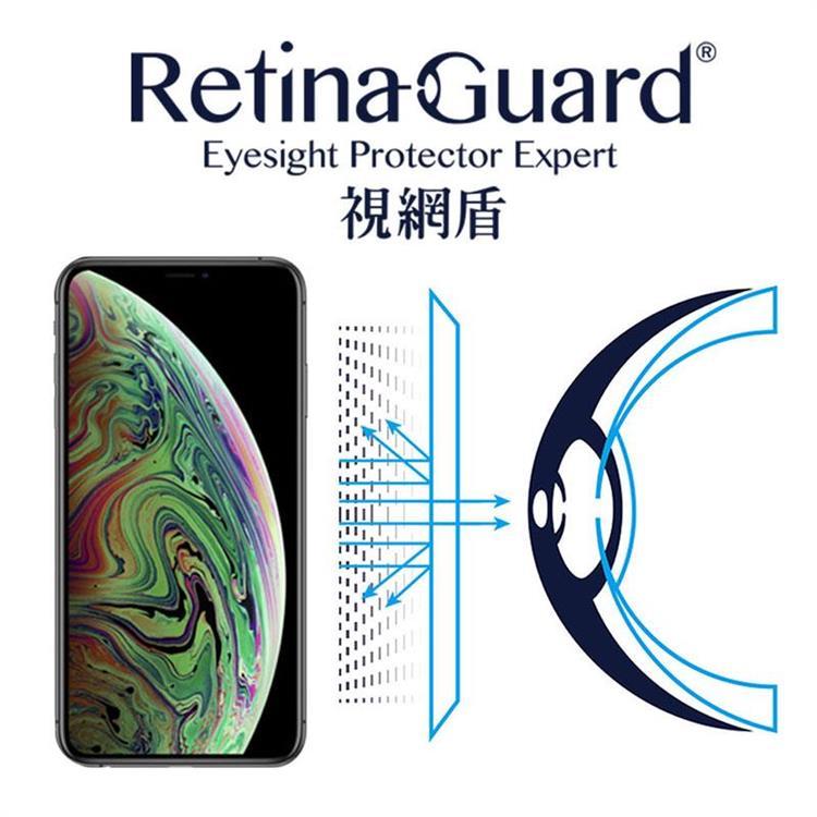 RetinaGuard視網盾 iPhone Xs Max 防藍光保護貼 - iPhone 11 Pro Max 共用