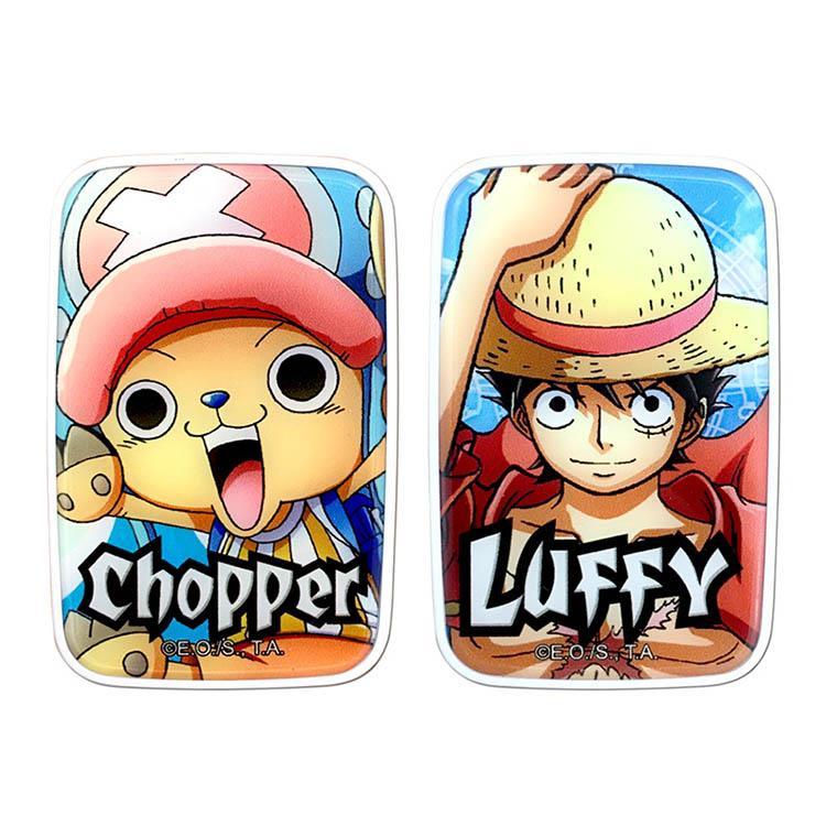 【正版授權】航海王One Piece 2.4A雙孔充電頭-喬巴