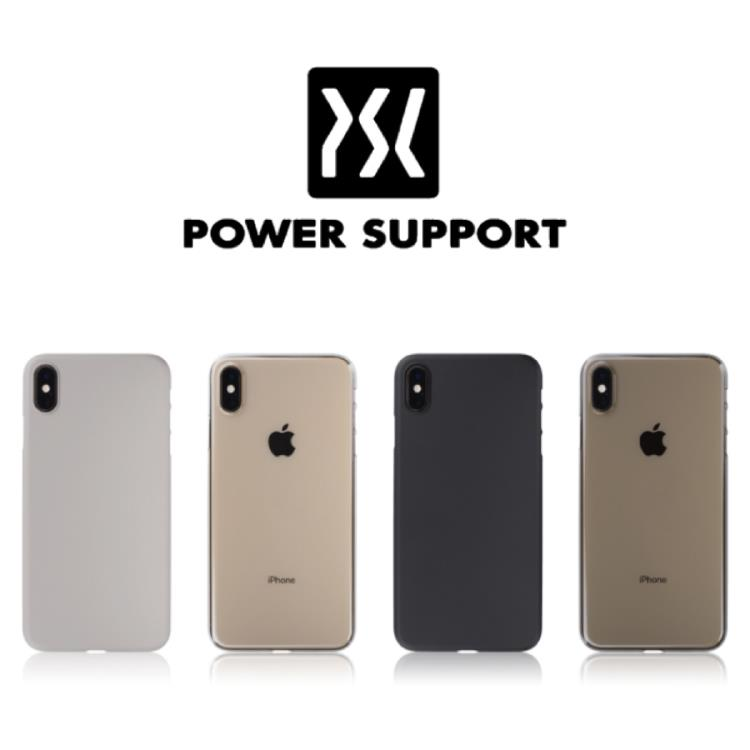 POWER SUPPORT iPhone Xs Max Air Jacket 超薄保護殼
