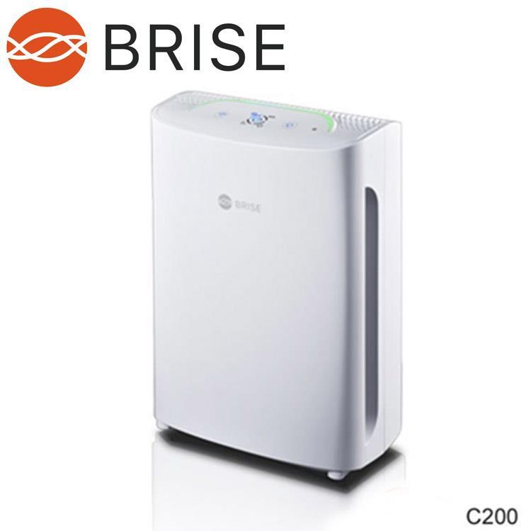 【BRISE】 C200人工智慧空氣清淨機(贈一年份濾網)再送飛利浦咖啡機HD7447