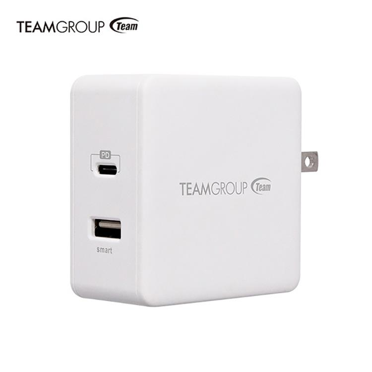 Team十銓科技 急速旅行充電器(支援全電壓)WD03