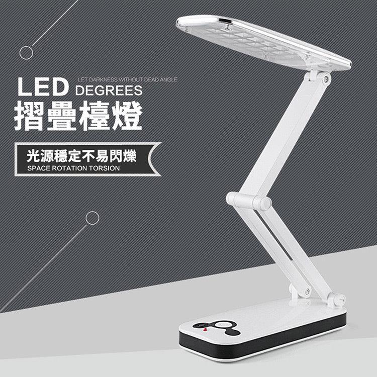 充電式LED迷你摺疊閱讀燈