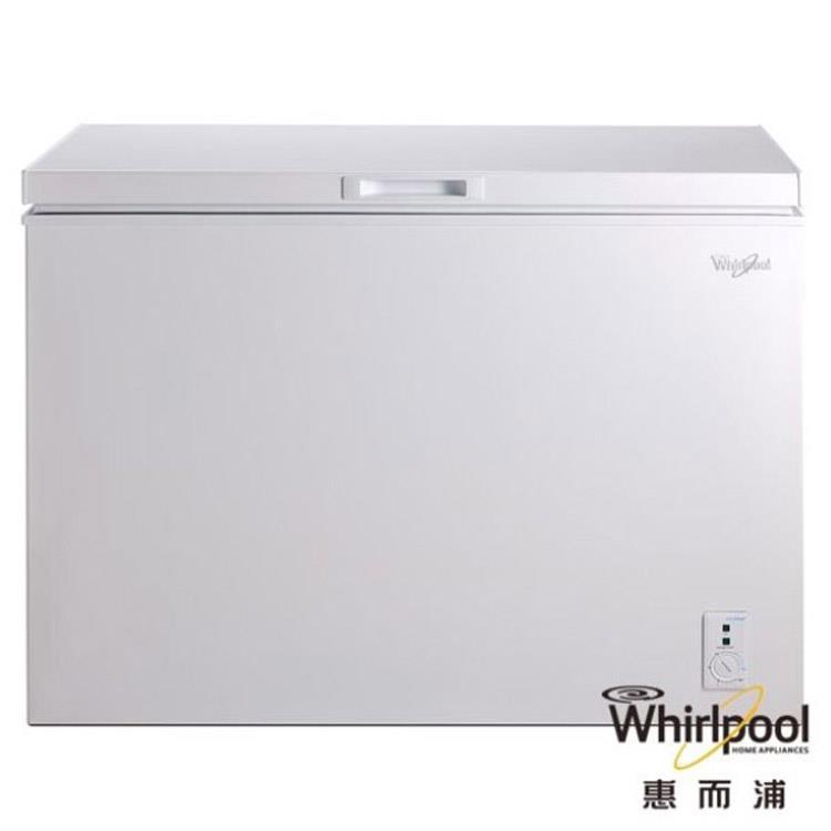 【Whirlpool 惠而浦】255L臥式冷凍櫃(冰櫃) WCF255W1