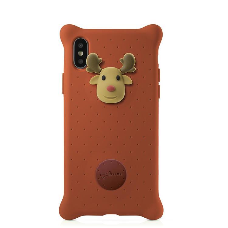 【BONE】IPhone X 泡泡保護套-麋鹿先生
